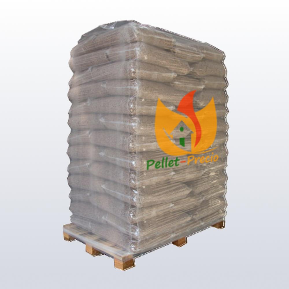 Pallet de pellet 1155 kg incluido iva - Pellets precio kilo ...